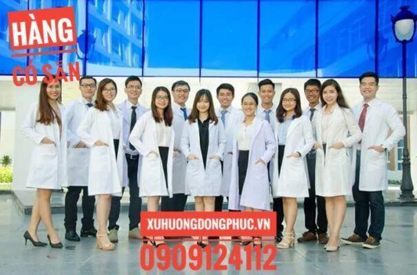 Quần áo blouse y tá điều dưỡng, bác sĩ có sẵn mẫu mới Xu Hướng Đồng Phục - Hotline 0909124112 FB IMG 1510766157182 01