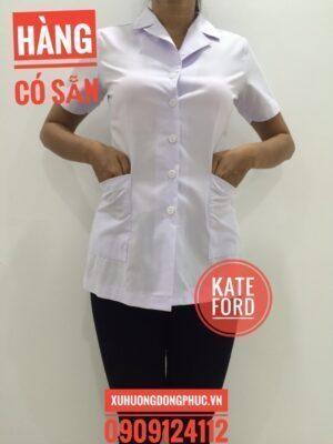 Áo blouse nữ kate ford Xu Hướng Đồng Phục - Hotline 0909124112