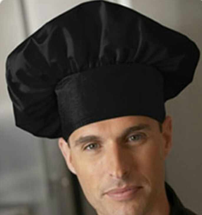 Nón bếp phồng đen