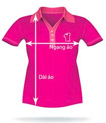 Bảng màu áo thun - vải cotton cá sấu và Size áo thun Xu Hướng Đồng Phục - Hotline 0909124112 ao thun