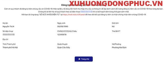 7 bước đăng ký tiêm vaccine Covid-19 online Xu Hướng Đồng Phục - Hotline 0909124112 b6