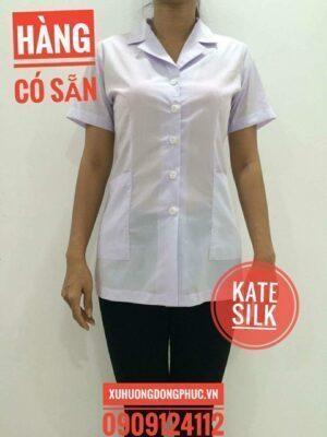 Áo blouse nữ kate silk Xu Hướng Đồng Phục - Hotline 0909124112